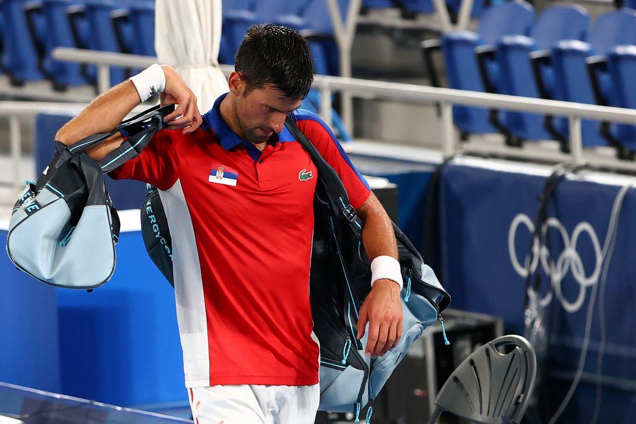 "Tokyo Olympics: ""Golden Slam"" Dream Dashed As Djokovic Loses To Zverev-Crsutal News"