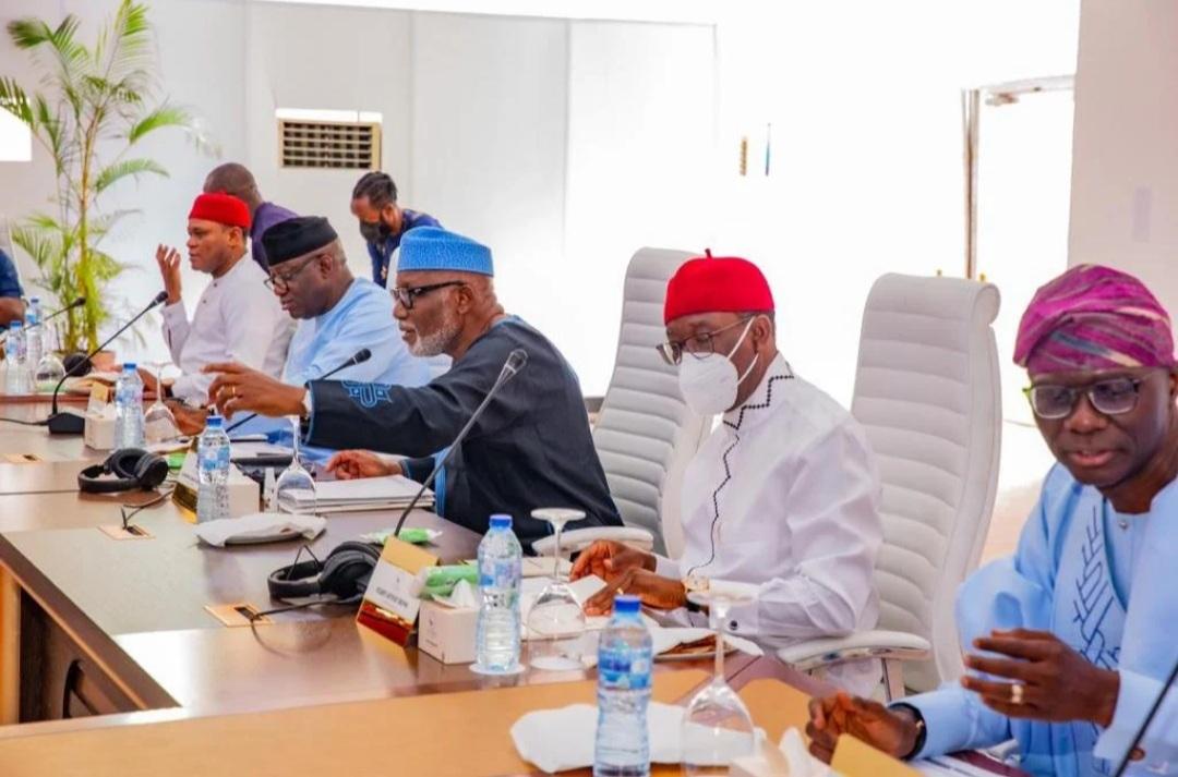Southern Nigeria Governors In Closed-door Meeting In Enugu-Crystal News