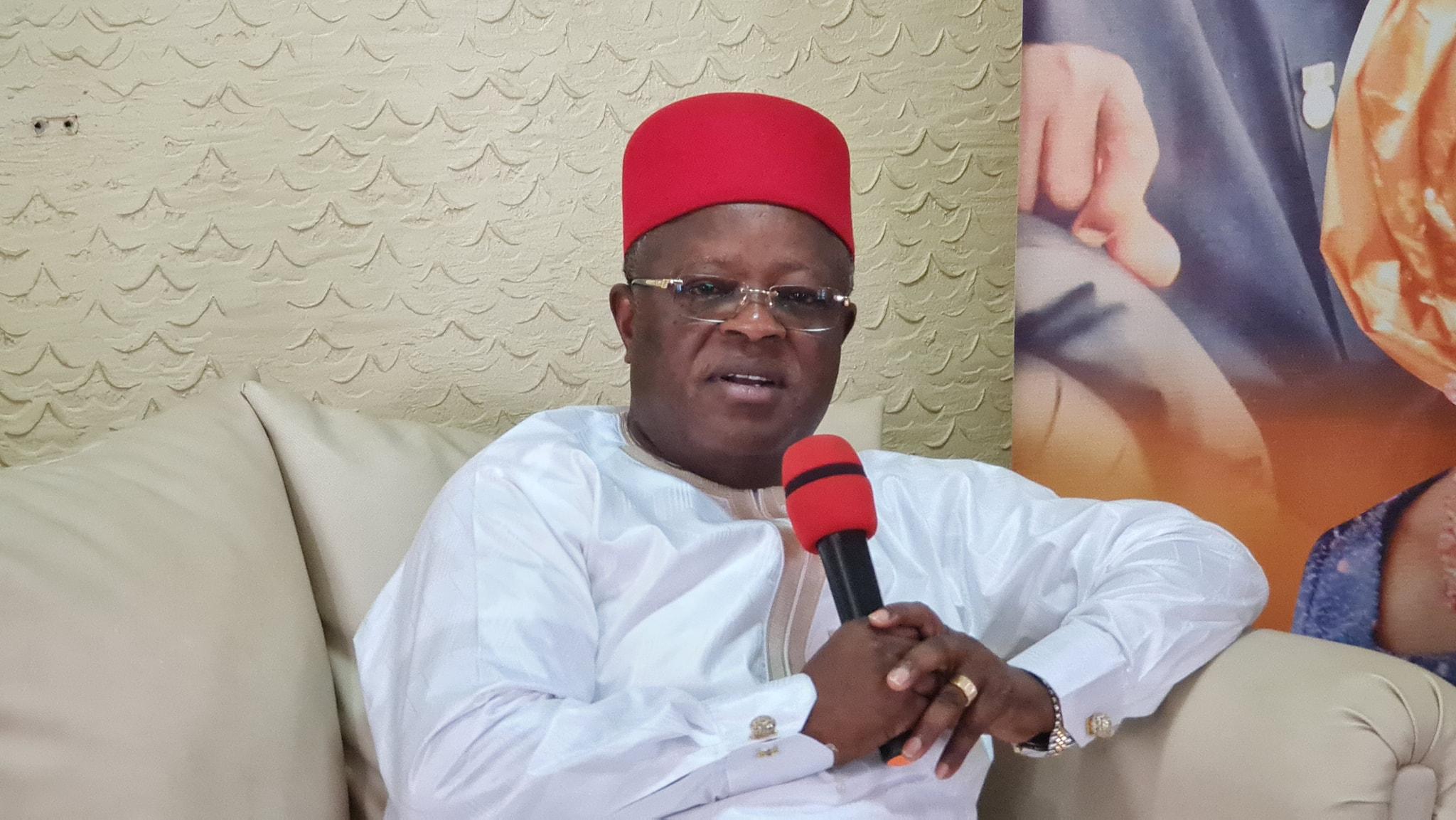 Agitations For Biafra Is Madness - Umahi